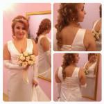 Свадебный макияж и прическа для Ирины