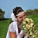 Свадебная укладка